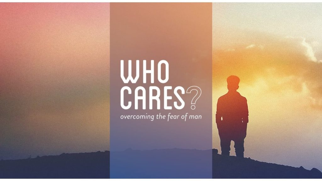 Who Care Sermon Series Graphic