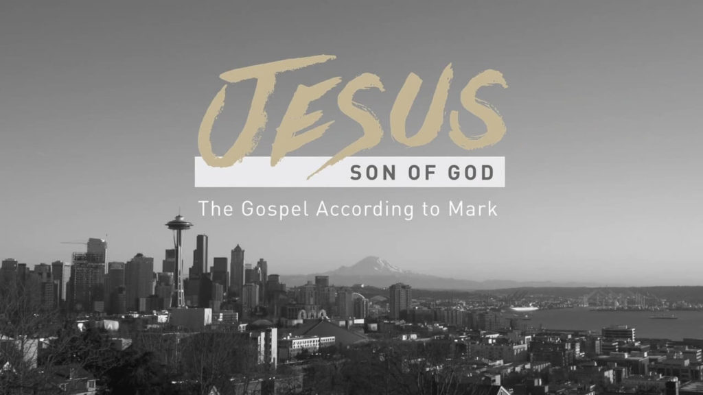 Gospel of Mark Sermon Series Graphic
