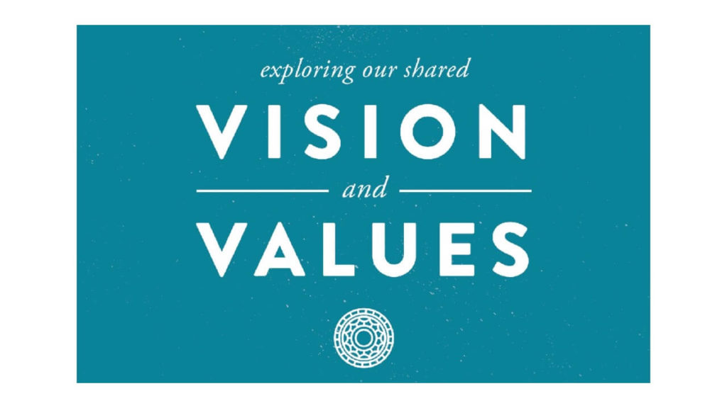 Vision + Values Sermon Series Graphic