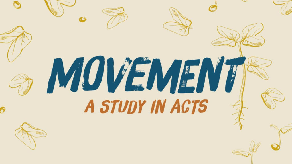 Acts Sermon Series Graphic